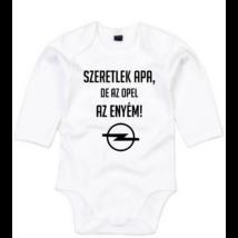 Szeretlek Apa de az Opel az enyém 111ec4a8348f5