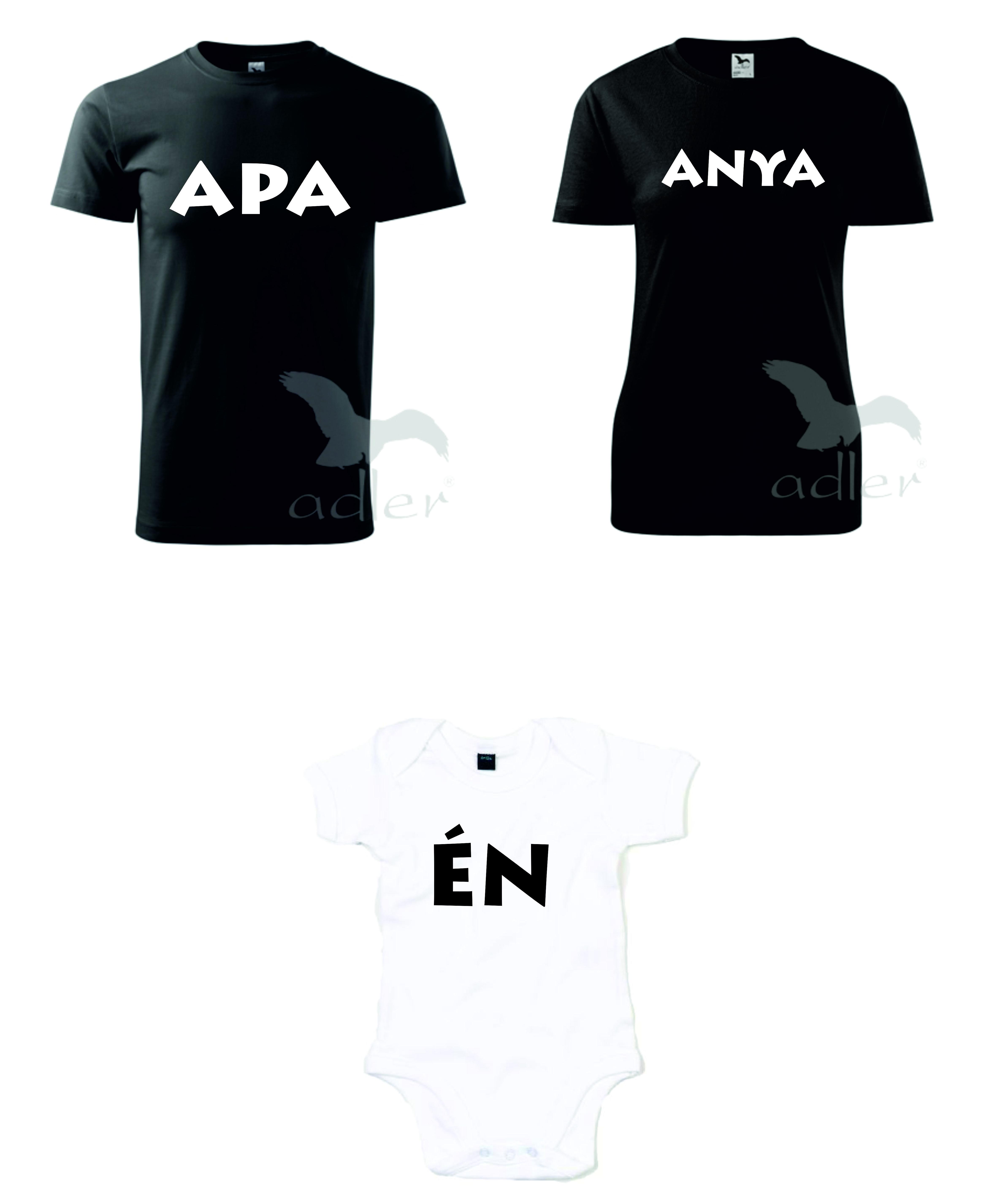 6d3e70ab7b Kiváló minőségű egyedi feliratos pólók szülőknek