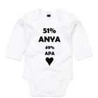 51% Anya 49% Apa