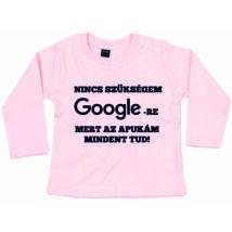 Nincs szükségem Googlera Apukám